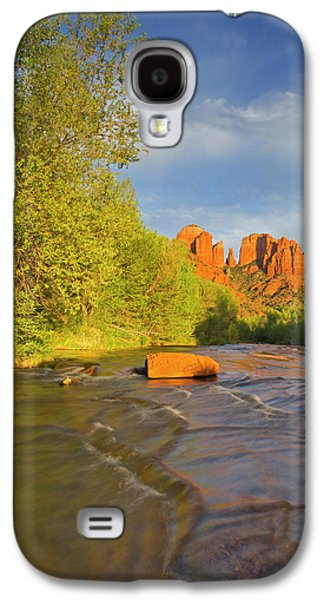 Cathedral Rocks Reflect Into Oak Creek Galaxy S4 Case by Chuck Haney