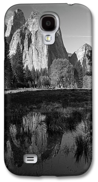 Cathedral Rocks Reflected In A Pond Galaxy S4 Case by David Wall