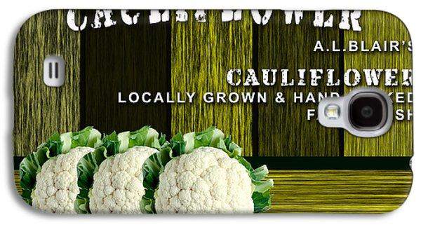 Cauliflower Farm Galaxy S4 Case
