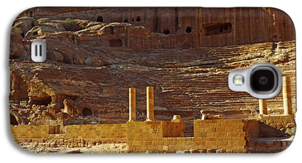 Cave Dwellings, Petra, Jordan Galaxy S4 Case by Panoramic Images