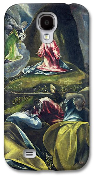 Christ In The Garden Of Olives Galaxy S4 Case by Celestial Images