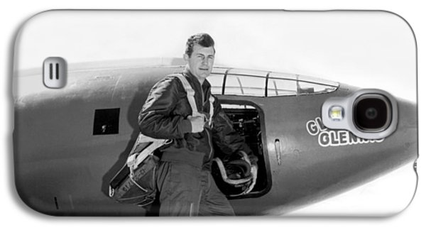 Chuck Yeager And Bell X-1 Galaxy S4 Case