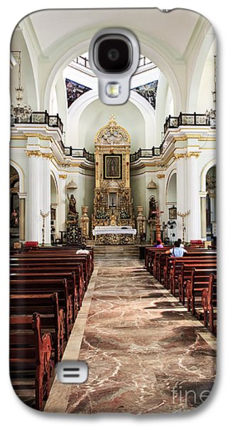 Church Interior In Puerto Vallarta Galaxy S4 Case