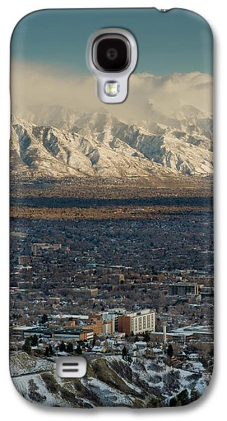 Clean Air From Ensign Peak Area Looking Galaxy S4 Case by Howie Garber
