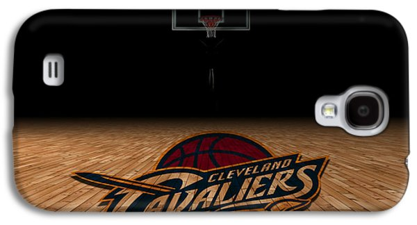 Cleveland Cavaliers Galaxy S4 Case by Joe Hamilton