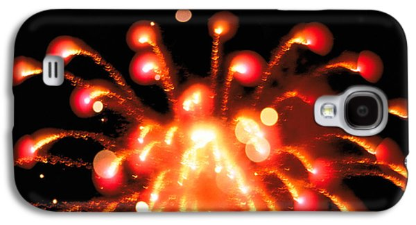Close Up Of Ignited Fireworks Galaxy S4 Case by Panoramic Images