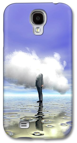 Cloud Computing Galaxy S4 Case by Carol & Mike Werner