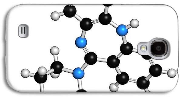 Clozapine Antipsychotic Drug Molecule Galaxy S4 Case by Molekuul