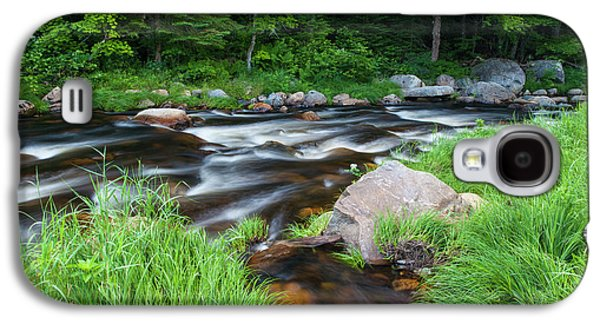 Cold Stream In Maine's Northern Forest Galaxy S4 Case by Jerry and Marcy Monkman