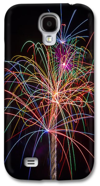 Colorful Fireworks Galaxy S4 Case