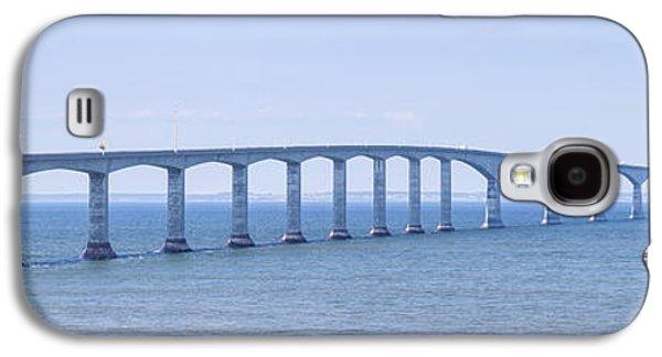 Confederation Bridge Panorama Galaxy S4 Case by Elena Elisseeva