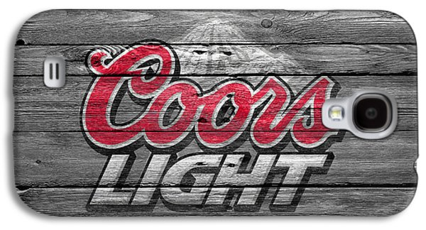 Coors Light Galaxy S4 Case by Joe Hamilton