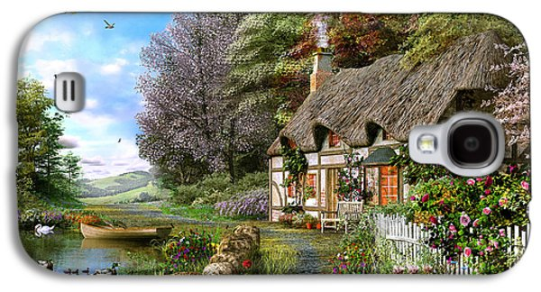 Countryside Cottage Galaxy S4 Case