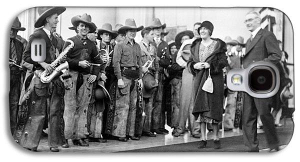 Cowboy Band, 1929 Galaxy S4 Case by Granger