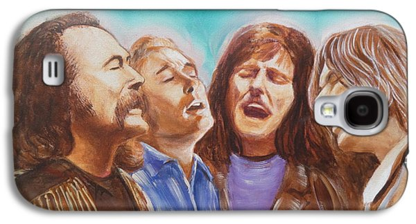Crosby Stills Nash And Young Galaxy S4 Case by Kean Butterfield