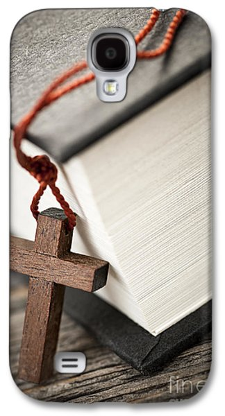 Cross And Bible Galaxy S4 Case
