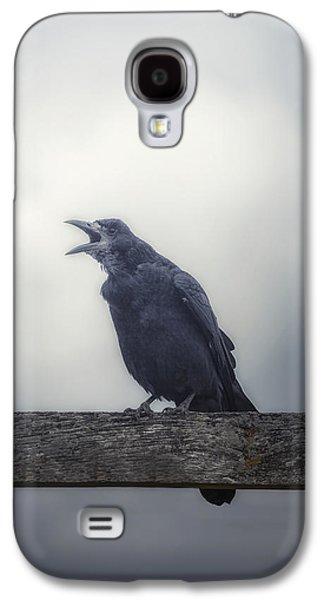 Crow Galaxy S4 Case by Joana Kruse