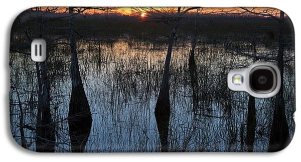 Cypress Swamp At Sunrise Galaxy S4 Case