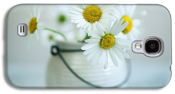 Daisy Galaxy S4 Case - Daisy Flowers by Nailia Schwarz