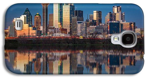 Dallas Galaxy S4 Case - Dallas Skyline by Mihai Andritoiu