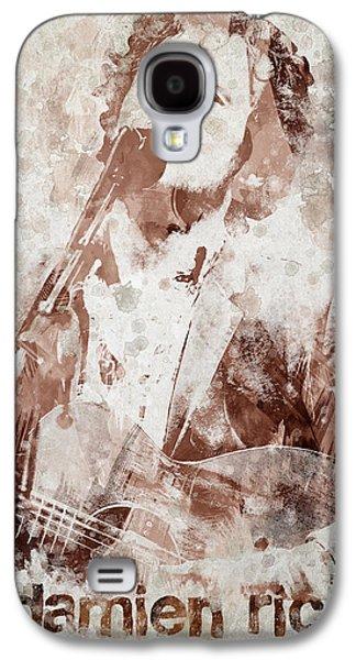 Damien Rice Portrait Galaxy S4 Case