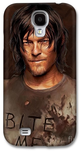 Daryl - Bite Me Galaxy S4 Case