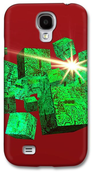Data Storage Galaxy S4 Case by Victor Habbick Visions