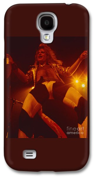 Van Halen Galaxy S4 Case - David Lee Roth - Van Halen At The Oakland Coliseum 12-2-1978 Rare Unreleased by Daniel Larsen