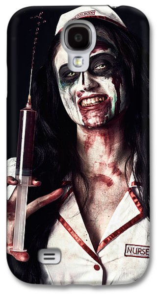 Dead Nurse Taking Blood Donation With Syringe Galaxy S4 Case by Jorgo Photography - Wall Art Gallery