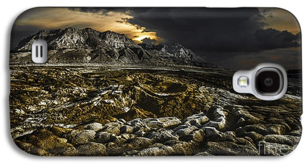 Dead Sea Sink Holes Galaxy S4 Case by Dan Yeger