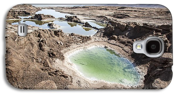 Dead Sea Sinkholes  Galaxy S4 Case by Eyal Bartov