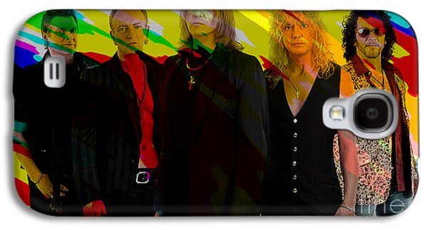 Def Leppard Galaxy S4 Case by Marvin Blaine