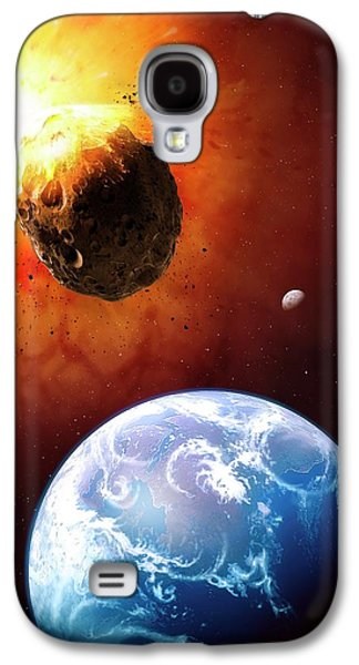 Deflecting A Near-earth Asteroid Galaxy S4 Case by Mark Garlick