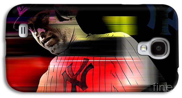 Derek Jeter Galaxy S4 Case by Marvin Blaine