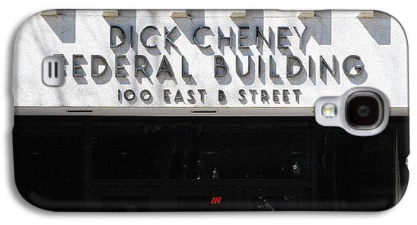 Dick Cheney Federal Bldg. Galaxy S4 Case by Oscar Williams
