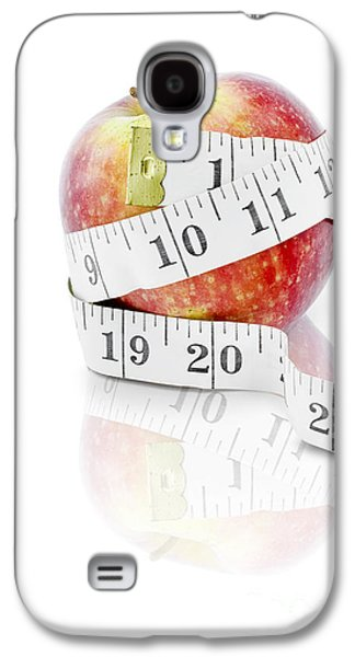 Diet And Weight Loss Concept On White Background Galaxy S4 Case by Jorgo Photography - Wall Art Gallery