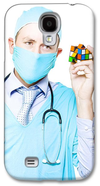 Doctor Problem Solving Medical Complications Galaxy S4 Case by Jorgo Photography - Wall Art Gallery