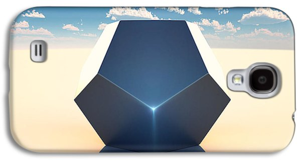 Dodecahedron Galaxy S4 Case by Marc Orphanos