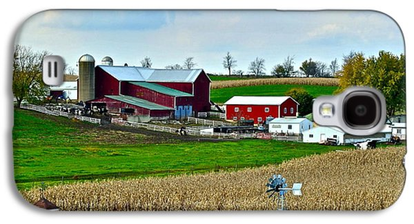 Down On The Farm Galaxy S4 Case by Frozen in Time Fine Art Photography