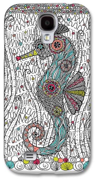Dream Seahorse Galaxy S4 Case by Susan Claire