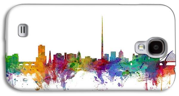 Dublin Ireland Skyline Galaxy S4 Case
