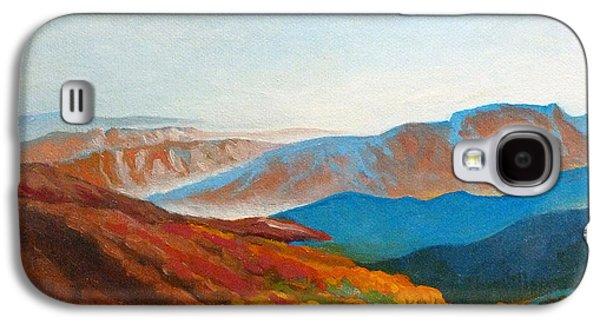 East Fall Blue Ridge Mountains 2 Galaxy S4 Case