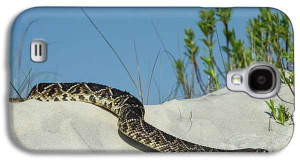 Eastern Diamondback Rattlesnake Galaxy S4 Case by Pete Oxford