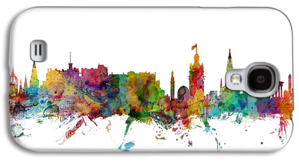 Edinburgh Scotland Skyline Galaxy S4 Case by Michael Tompsett
