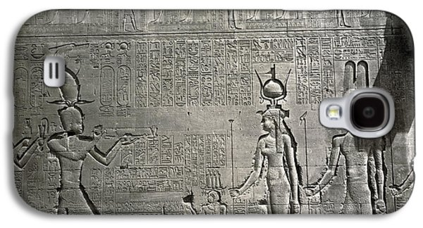 Egypt Temple Of Hathor Galaxy S4 Case