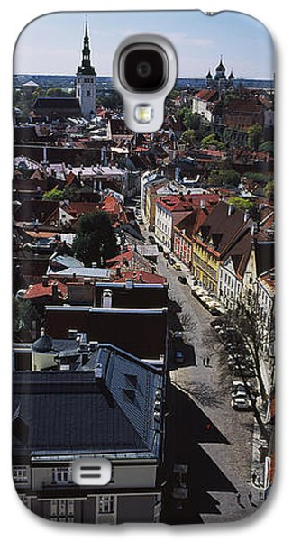 Elevated View Of Old Town, Tallinn Galaxy S4 Case