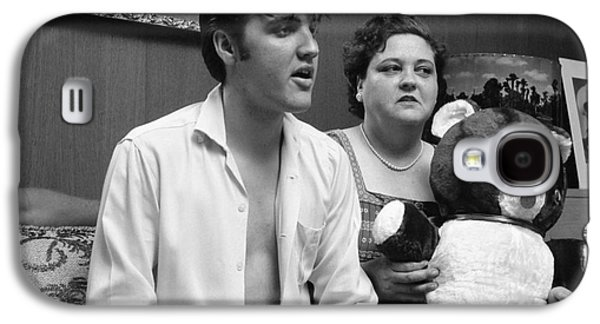 Elvis Presley And His Mother Gladys 1956 Galaxy S4 Case