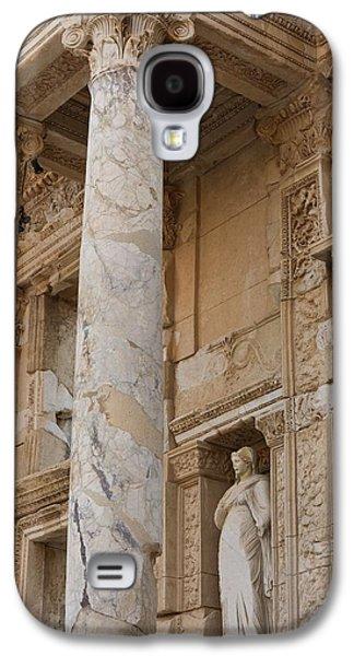 Ephesus Library Galaxy S4 Case by David Parker