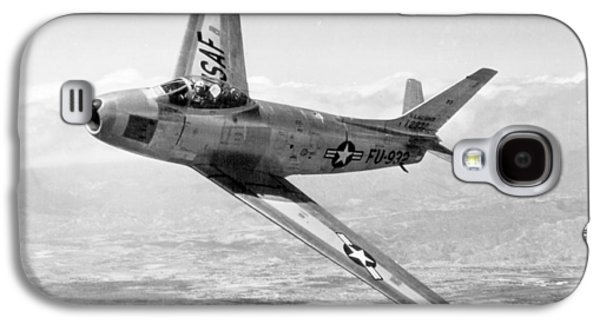 F-86 Sabre, First Swept-wing Fighter Galaxy S4 Case