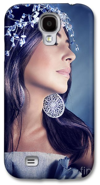 Fashion Model Portrait Galaxy S4 Case by Anna Om